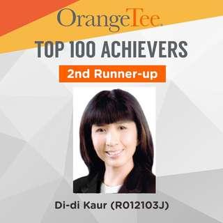 OrangeTee Top Achiever 2017: 2nd Runner-up