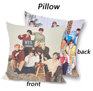BTS Pillow Double-sided photo cushion