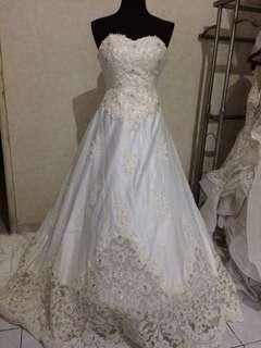 gaun pengantin sale gown wedding pesta