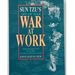 English book ( War at Work )