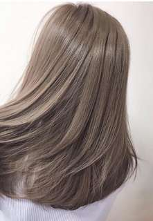 Medium ash brown hair dye