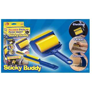 Reusable Sticky Buddy Carpet Clothes Fur Remover Roller (HL-0002)