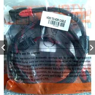 HDMI to HDMI cable 1080p 1.5m