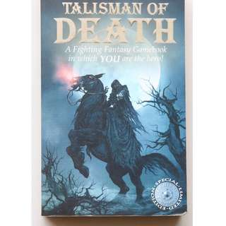 English book : Talisman of Death (Special Limited Edition)
