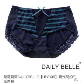 黛莉貝爾(UR8105)現代簡約涼感內褲-M