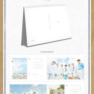 BTS 2018 Seasons Greetings All New (this is what is inside) ( 呢啲就係seasons greetings裏面包括嘅嘢)