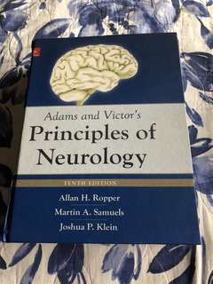 Neurology medical book (Adams and victor's)