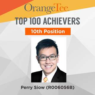 OrangeTee Top Achiever 2017: 10th Position