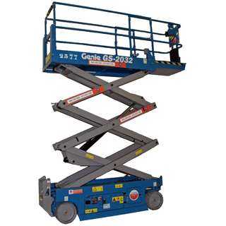 RENTAL - 6m Scissor Lift - Genie GS 2032