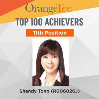 OrangeTee Top Achiever 2017: 11th Position