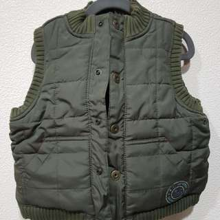 JANIE AND JACK FLEECE LINED WINTER VEST