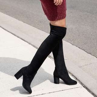 🍑 Therapy Hanover Boots Black