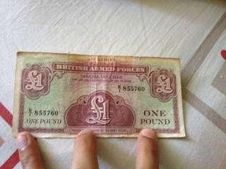 Old British note