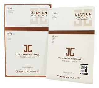 JAYJUN Collagen Skin Fit Mask (10 pcs)