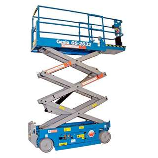 RENTAL - 8m Scissor Lift - Genie GS2632