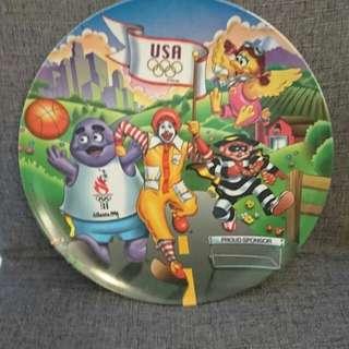 Mcdonald特別版大圓碟