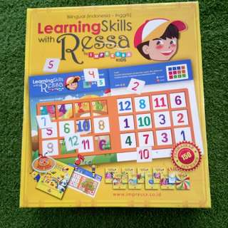 Learning skills with Ressa