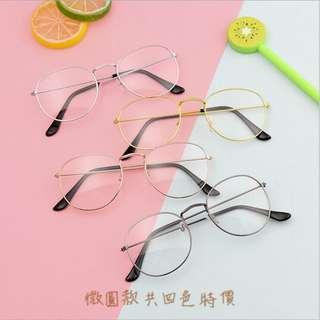 🚚 文青眼睛。限量每個人購買2隻 因為太便宜 眼睛 太陽眼鏡 必備網美