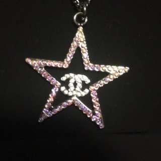 米蘭直送 2017 Chanel Cruise Collection Star Crystal Necklace 閃石 頸鏈
