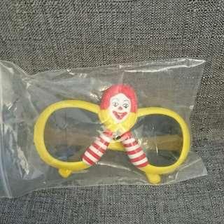 Mcdonald叔叔眼鏡90's