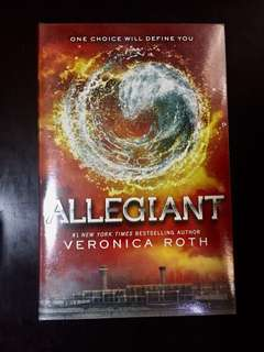 Allegiant Book by Veronica Roth