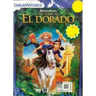 The Road To El Dorado Anime DVD