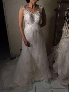 gaun pengantin wedding gown party