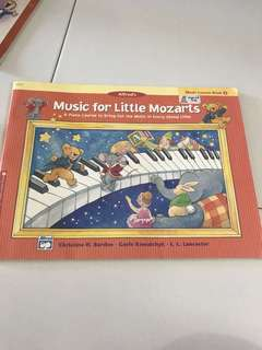 Alfred's Music for little mozart