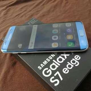Samsung galaxy s7 edge coral blue 32gb ntc