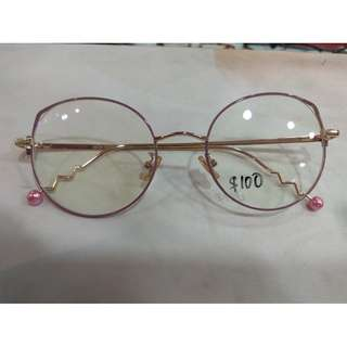Korean style Trendy frame + cr39 mc emi - buy 1 set get 1 set free