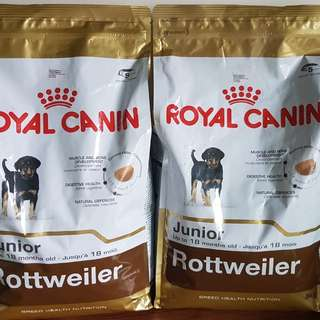Royal Canin Rottweiler (Junior - up to 18mos.)