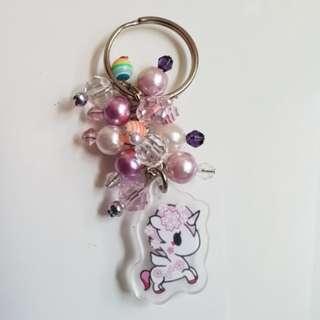 Handmade tokidoki inspired mini bag bag charms / keyfobs