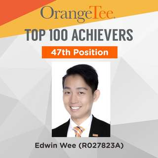 OrangeTee Top Achiever 2017: 47th Position