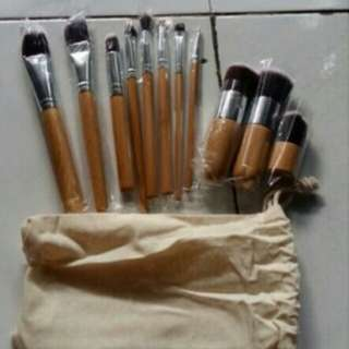 Brush set makeup murah