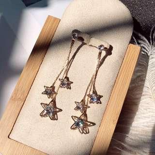 Stars Dangling Earrings