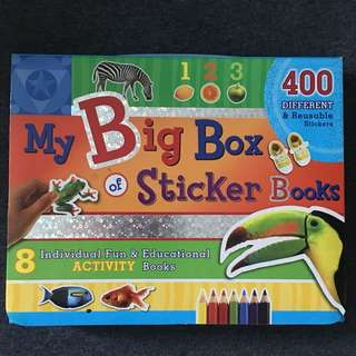 My Big Box of Sticker Books
