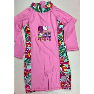 Hello Kitty pink rash guard