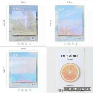 (INSTOCK) ASSORTED POST-ITS