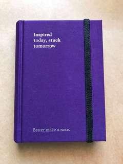 Purple Pocket Notebook
