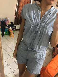 Denim jumsuit / playsuit