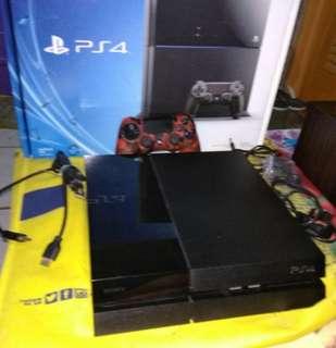 PS4 Phat Jetblack 500GB