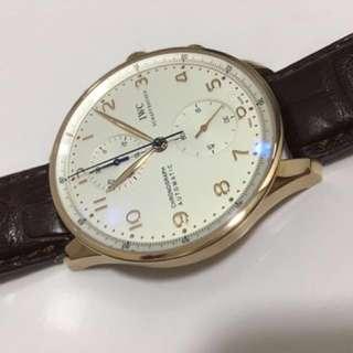 Iwc Portuguese chronograph 750k
