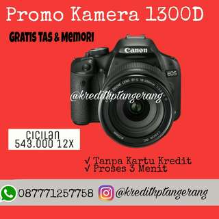 Promo Kamera Canon 1300D