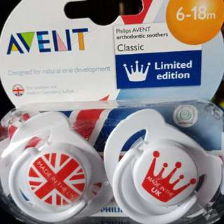 Brand new Avent Pacifier 6-18m