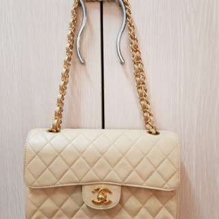 Marked down price.Urgent sale.Vintage Chanel Classic Double flap Caviar(small)