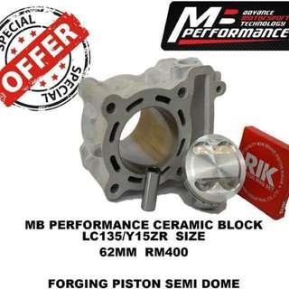 MB PERFORMANCE CERAMIC BLOCK LC135/Y15