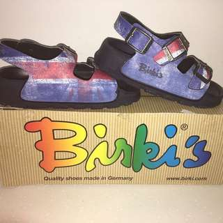 Birki's birkis Union Jack 🇬🇧 British flag sandals 25
