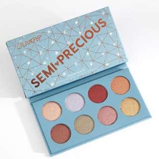 INSTOCK Colourpop semi precious eyeshadow palette