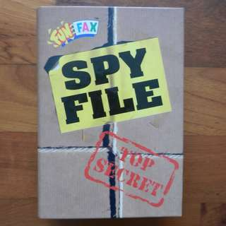 Funfax Spy File Organiser with Stickers