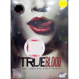 True Blood The Complete First Seson - 5DVD Box set (Imported)